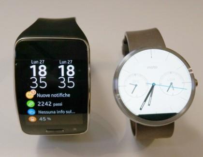 Video confronto: Gear S vs Moto 360
