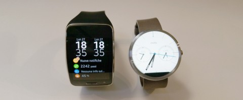 Video confronto: Gear S vs Moto 360