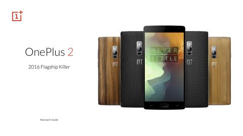 OnePlus 2 è ufficiale: USB Type C, Dual Sim 4G, 64GB interni a 399€