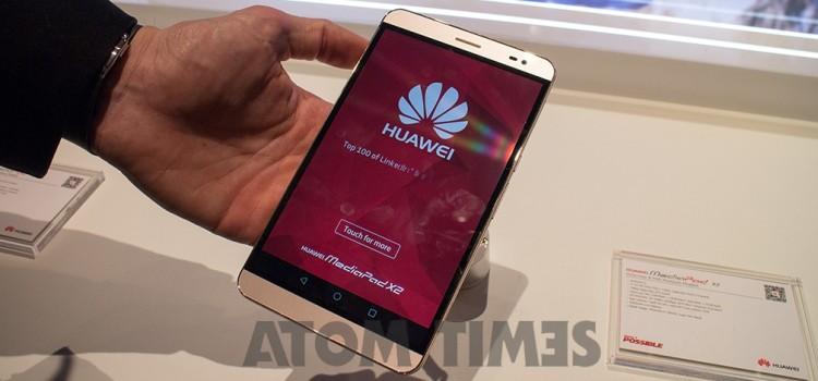 Huawei MediaPad X2: la video anteprima di Atomtimes