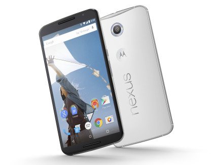 Nexus 6 bianco a 399€ disponibile on line