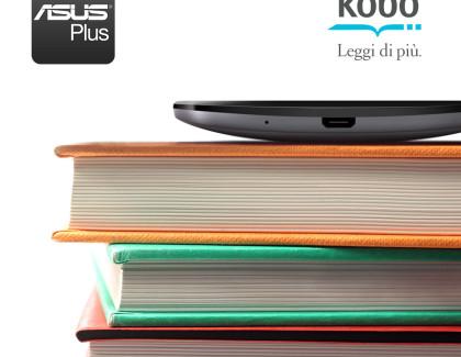 ASUS e Kobo insieme per leggere libri anche in mobilità