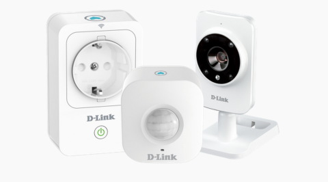 """Casa immediatamente protetta e """"smart""""con il kit di D-Link"""