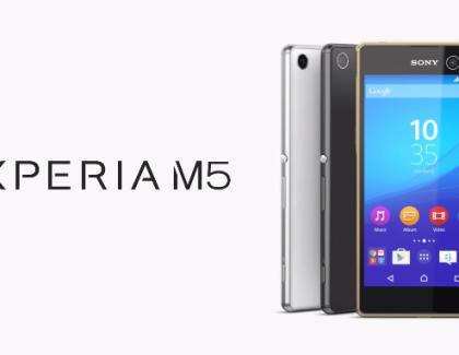 Sony Xperia M5 è ufficiale: medio gamma con fotocamera da 21MP