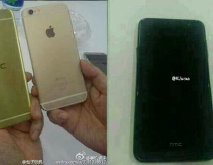 HTC Aero: prime foto affianco all'iPhone 6