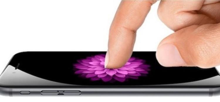 Force Touch sui nuovi iPhone, ecco come funzionerà