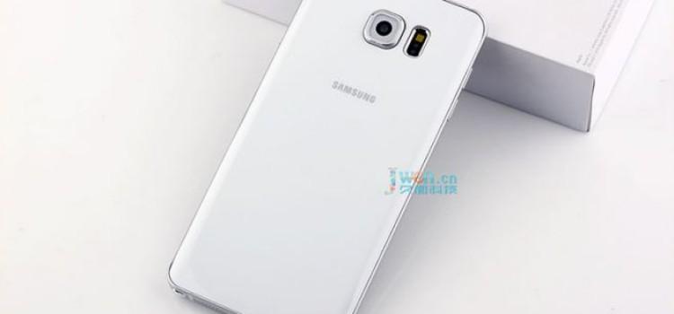 Galaxy Note 5 (mockup) mostrato in una galleria fotografica