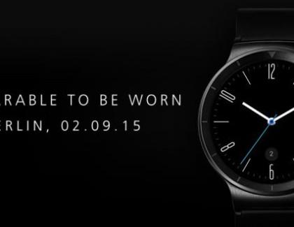 Huawei Watch: debutto ufficiale il 2 settembre a Berlino