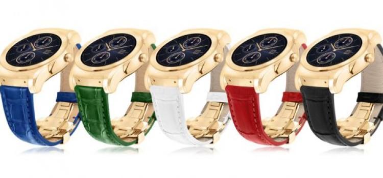 LG Watch Urbane Luxe è ufficiale: oro 23 carati e soli 500 pezzi