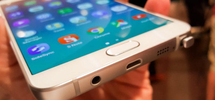 Galaxy Note 5: video ufficiale e prime foto dal vivo
