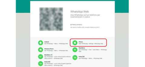 WhatsApp Web arriva anche per iPhone