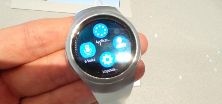 Samsung Gear S2: ecco le app disponibili