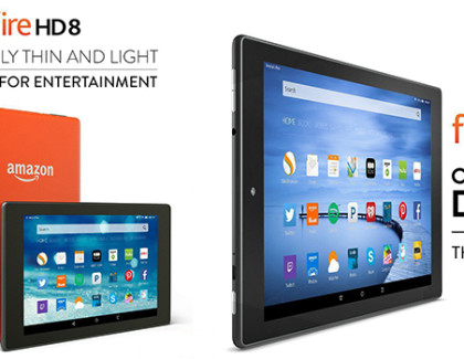 Amazon Fire HD 10 e Fire HD 8: disponibili dal 30 settembre a 199 e 159 euro