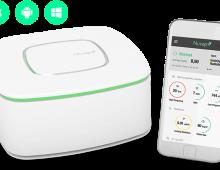 NUVAP N1 il primo dispositivo per monitorare l'inquinamento in casa tramite app sul proprio smartphone