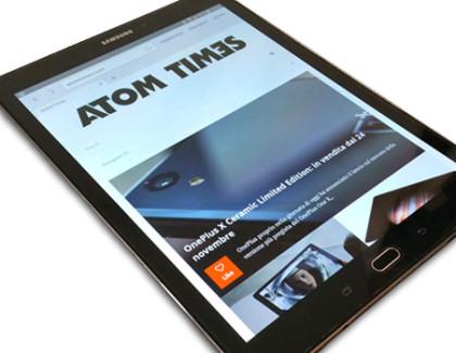 Galaxy Tab S2: la recensione di Atomtimes