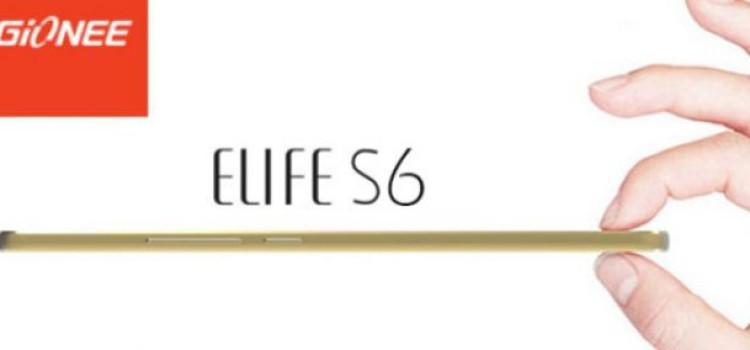 Gionee S6 è ufficiale: display 5.5″ AMOLED e 6.9 mm di spessore