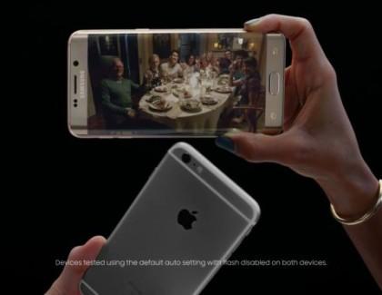 Samsung: nuovo spot comparativo della fotocamera dei Galaxy