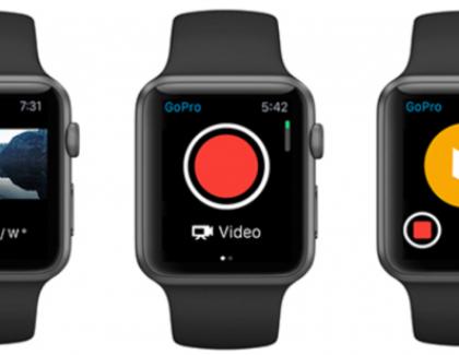 Con l'Apple Watch puoi controllare anche la tua GoPro