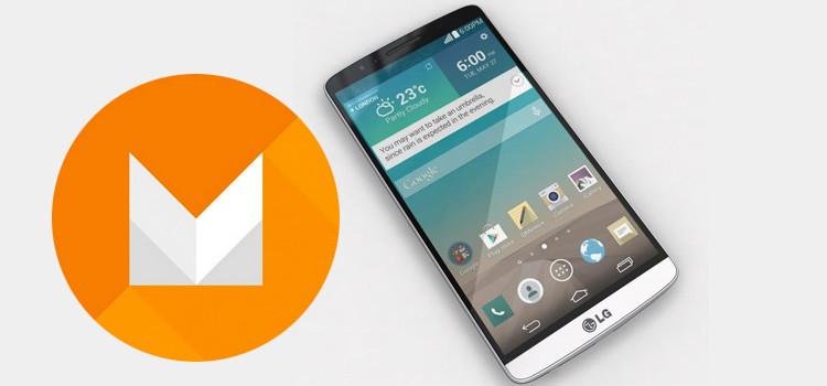 LG conferma l'aggiornamento ad Android 6.0 sul G3