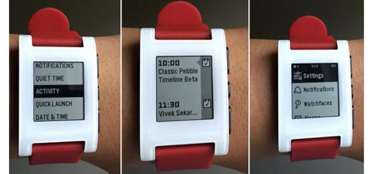 """La nuova interfaccia """"Timeline"""" di Pebble disponibile in versione beta"""