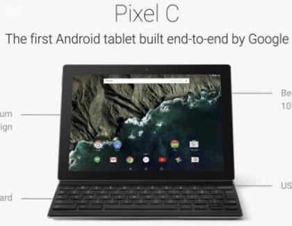 Pixel C: ecco tutte le novità per il nuovo tablet Android 2 in 1