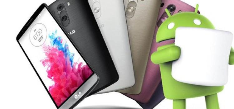 LG rilascia ufficialmente Marshmallow per G3 in Polonia