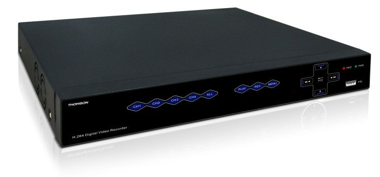 Thomson presenta i nuovi videoregistratori AHD in grado di monitorare gli impianti di videosorveglianza