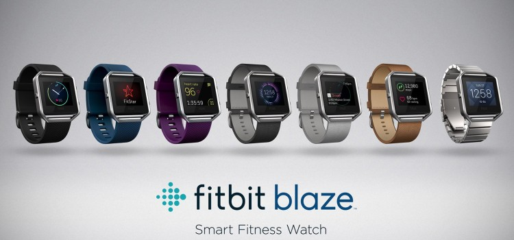 Fitbit Blaze la risposta ad Apple Watch
