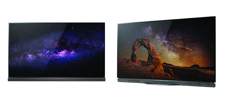LG presenta la TV OLED 4k: soli 2,57mm di spessore e fino a 77″