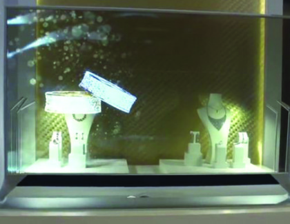 LG presenta TV OLED curvi, trasparenti e visibili da entrambi i lati