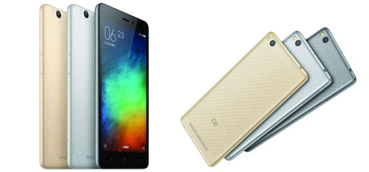 Xiaomi Redmi 3 è ufficiale: scocca in metallo, display 5″ ed a meno di 99€