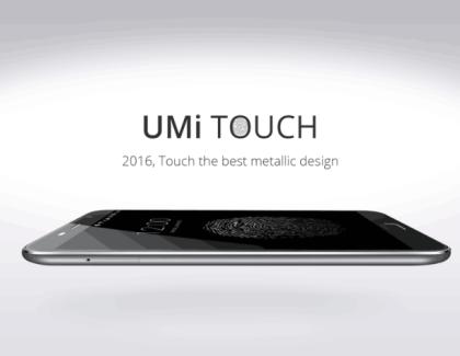 UMI Touch: lo smartphone con un design dai rapporti perfetti!