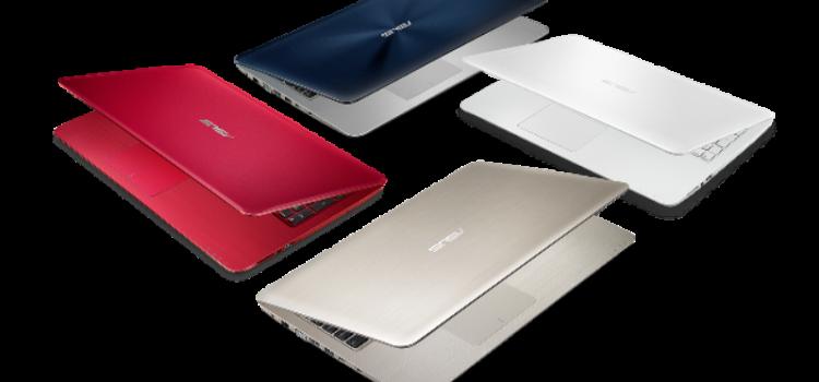 ASUS rinnova la gamma di notebook della serie X
