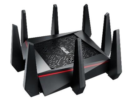ASUS RT-AC5300: disponibile il router Wi-Fi tri-band più veloce del mondo