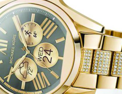 Michael Kors lancia la prima linea di smartwatch di lusso con Android Wear
