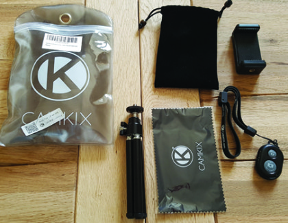Recensione kit universale per smartphone, con treppiedi e telecomando bluetooth