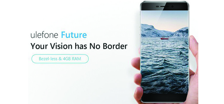 Ulefone Future è ufficiale: device con display senza cornici laterali