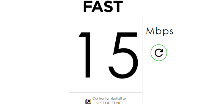 Fast.com, il sito di netflix per testare la tua velocità di connessione