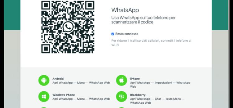WhatsApp arriva finalmente su Mac