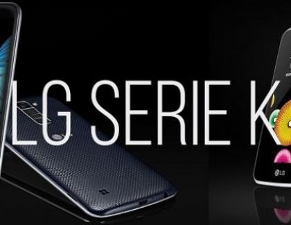 Emersi nuovi device LG serie K