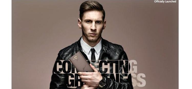 Arriva il Huawei Mate 8 firmato da Lionel Messi