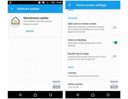 Sony Xperia Home disponibile in versione Beta