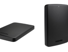 HD portatile Toshiba da 1TB in offerta a 53,30€