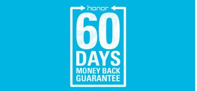 Honor: shopping con 60 giorni per restituire il prodotto