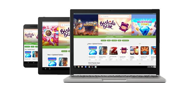 Google mostra le app Android su Chrome OS