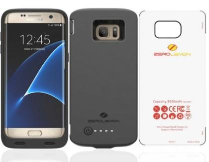ZeroLemon lancia la battery cover per Galaxy S7 Edge da 8500 mAh
