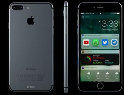 Nuovo mockup dell'iPhone 7 con iOS 10