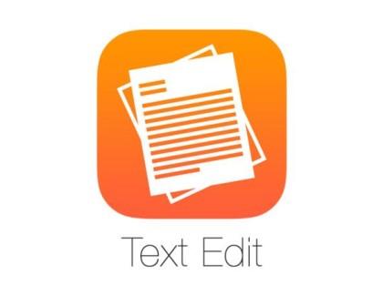 TextEdit su iOS 10