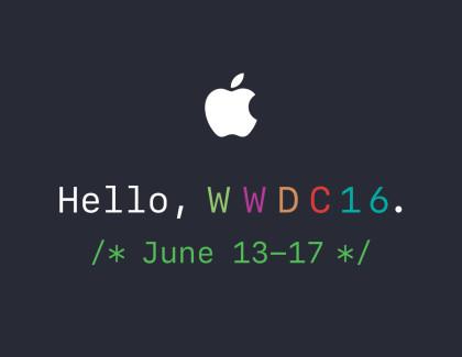 Il WWDC2016 di Apple si terrà il 13 giugno, arrivano i primi inviti