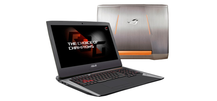 Notebook ASUS Republic of Gamers G752:  performance massime senza scendere a compromessi